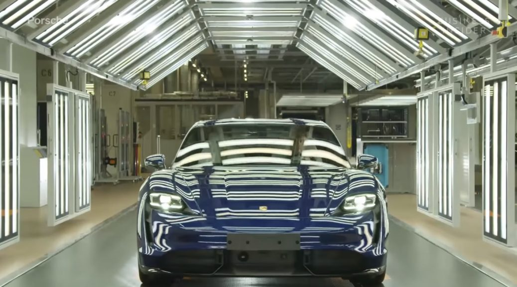 Porsche Taycan Production Line