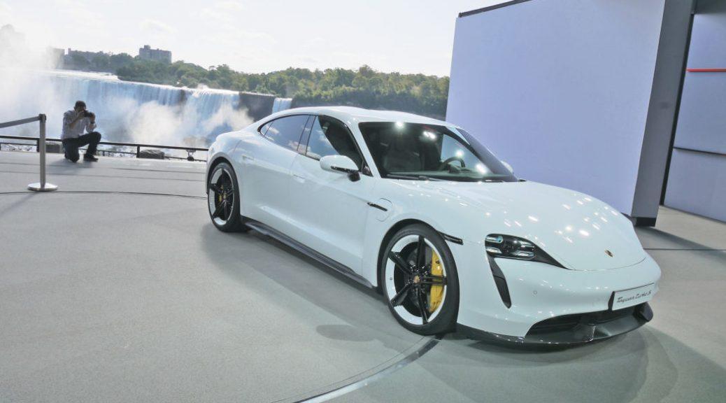 Porsche Taycan Turbo and Turbo S