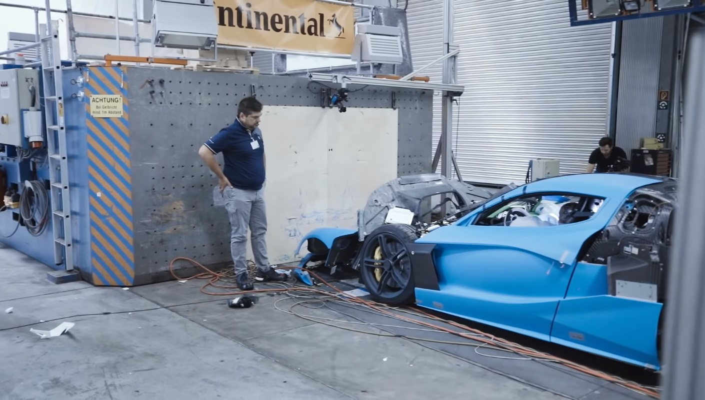 Rimac C_Two Crach Test