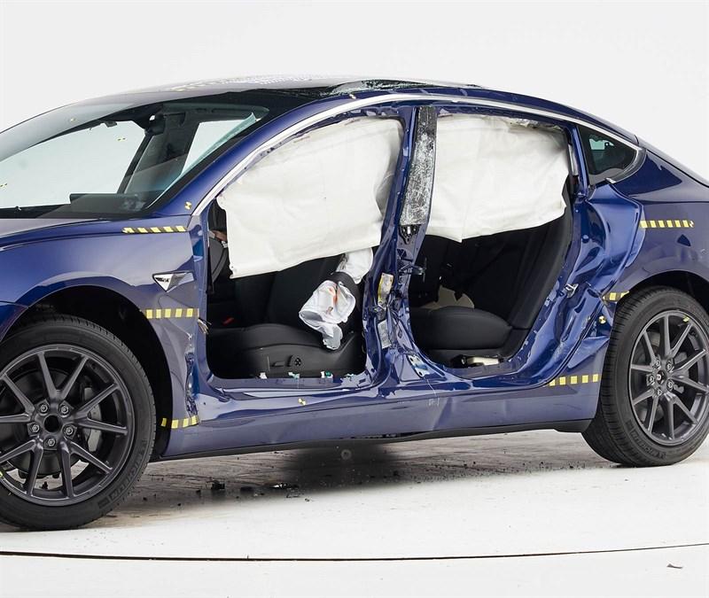 Tesla Model 3 IIHS Top Safety Pick+
