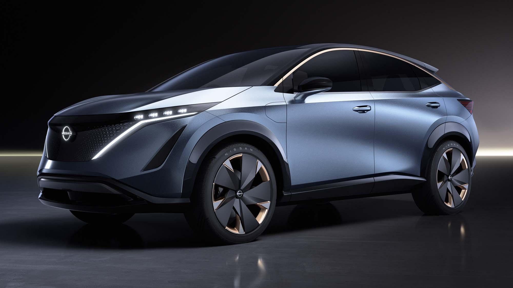 To Nissan Ariya concept δεν θα είναι το νέο QASHQAI