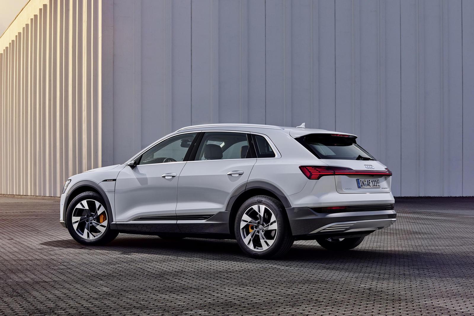 Audi e-tron 50 250 km range