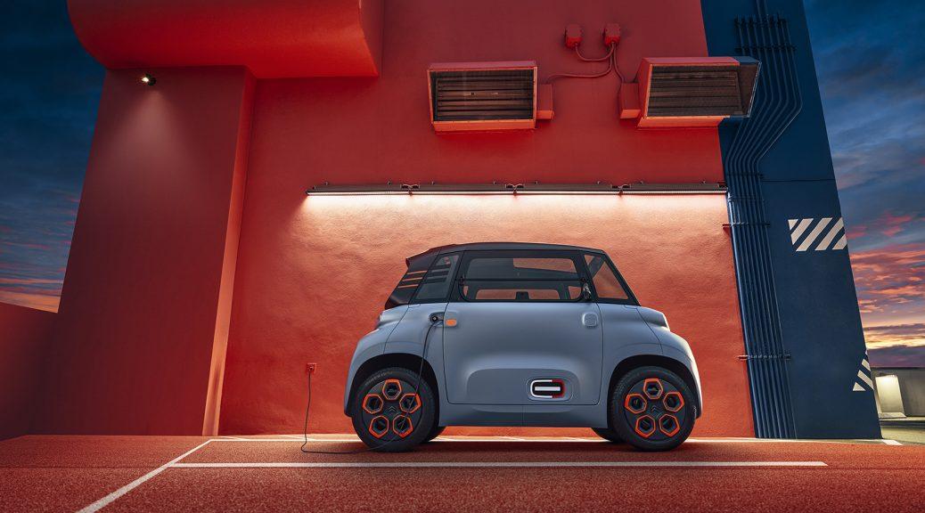 Citroen AMi: Μικρό ηλεκτρικό αυτοκίνητο πόλης με 70 χιλιόμετρα αυτονομία