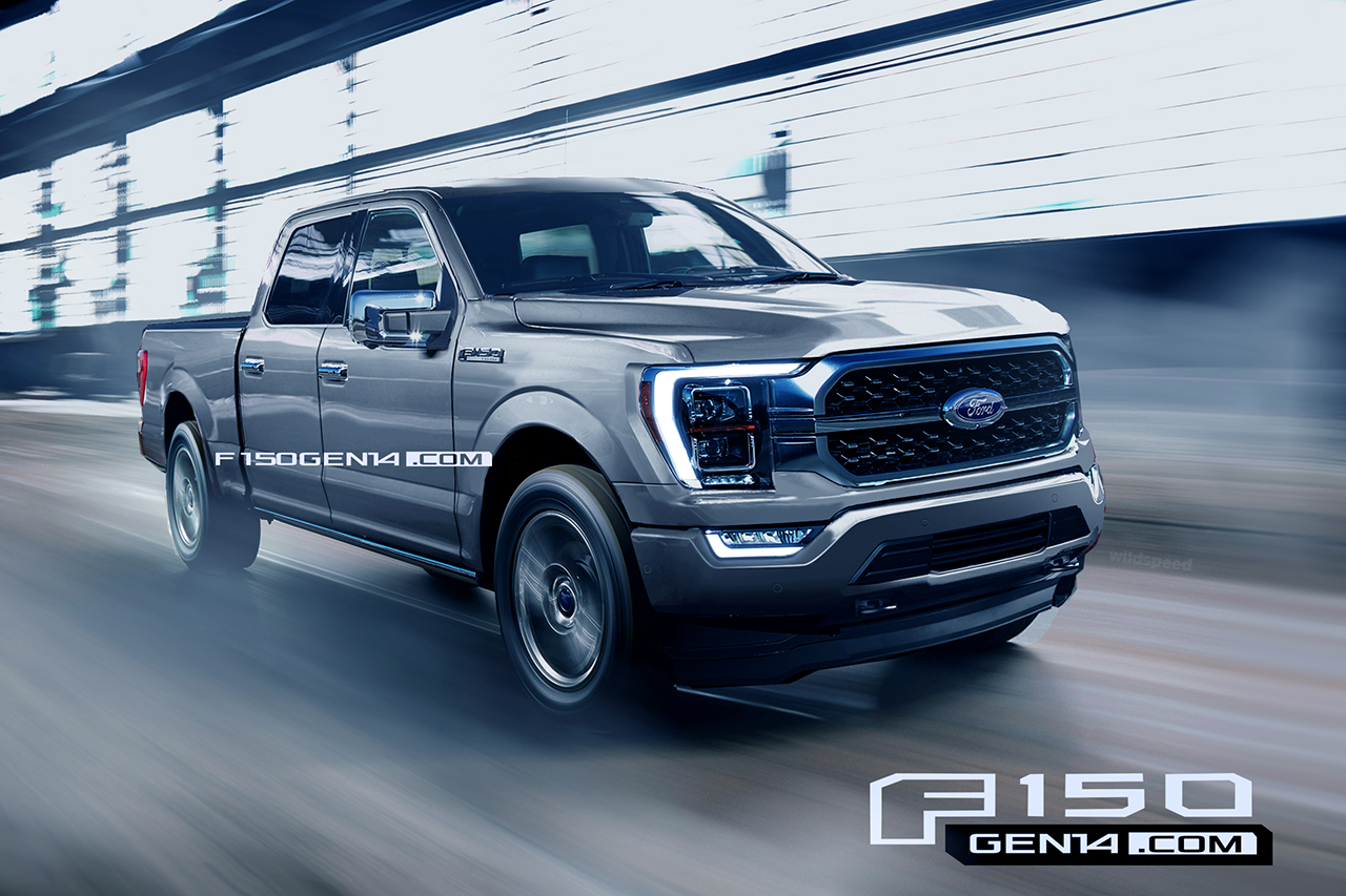 Ford F-150 Renders
