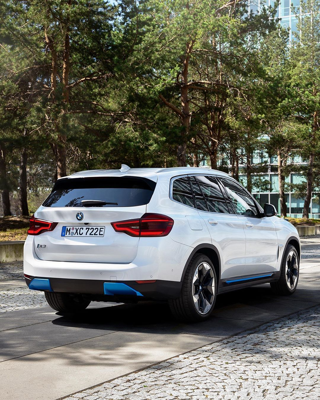 BMW iX3 Spy Images