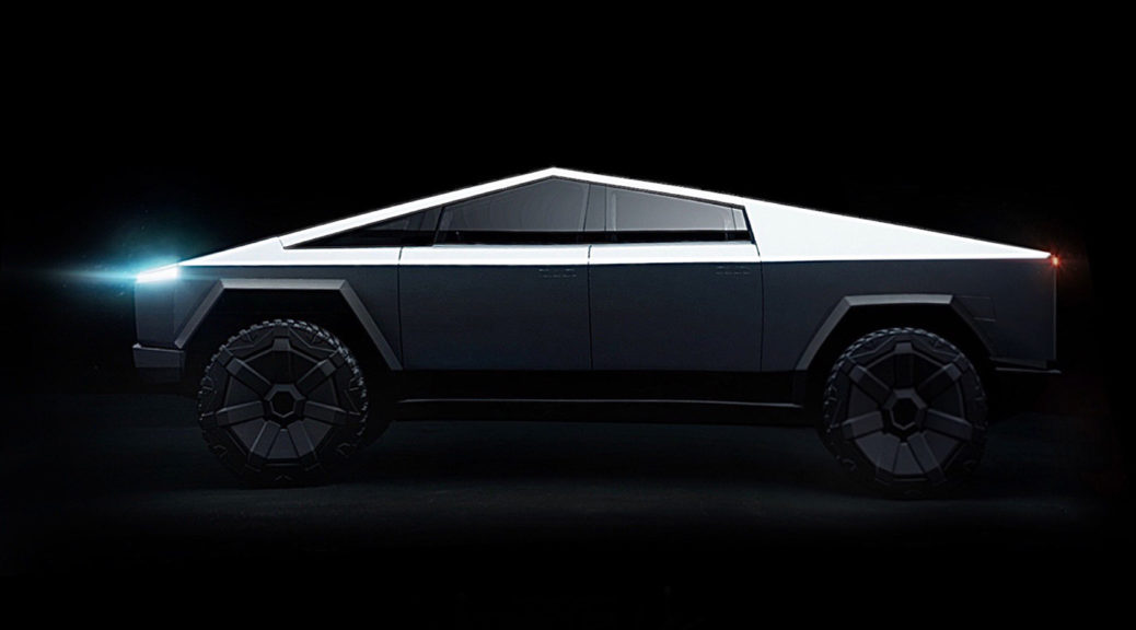 Tesla Cybertruck New Design