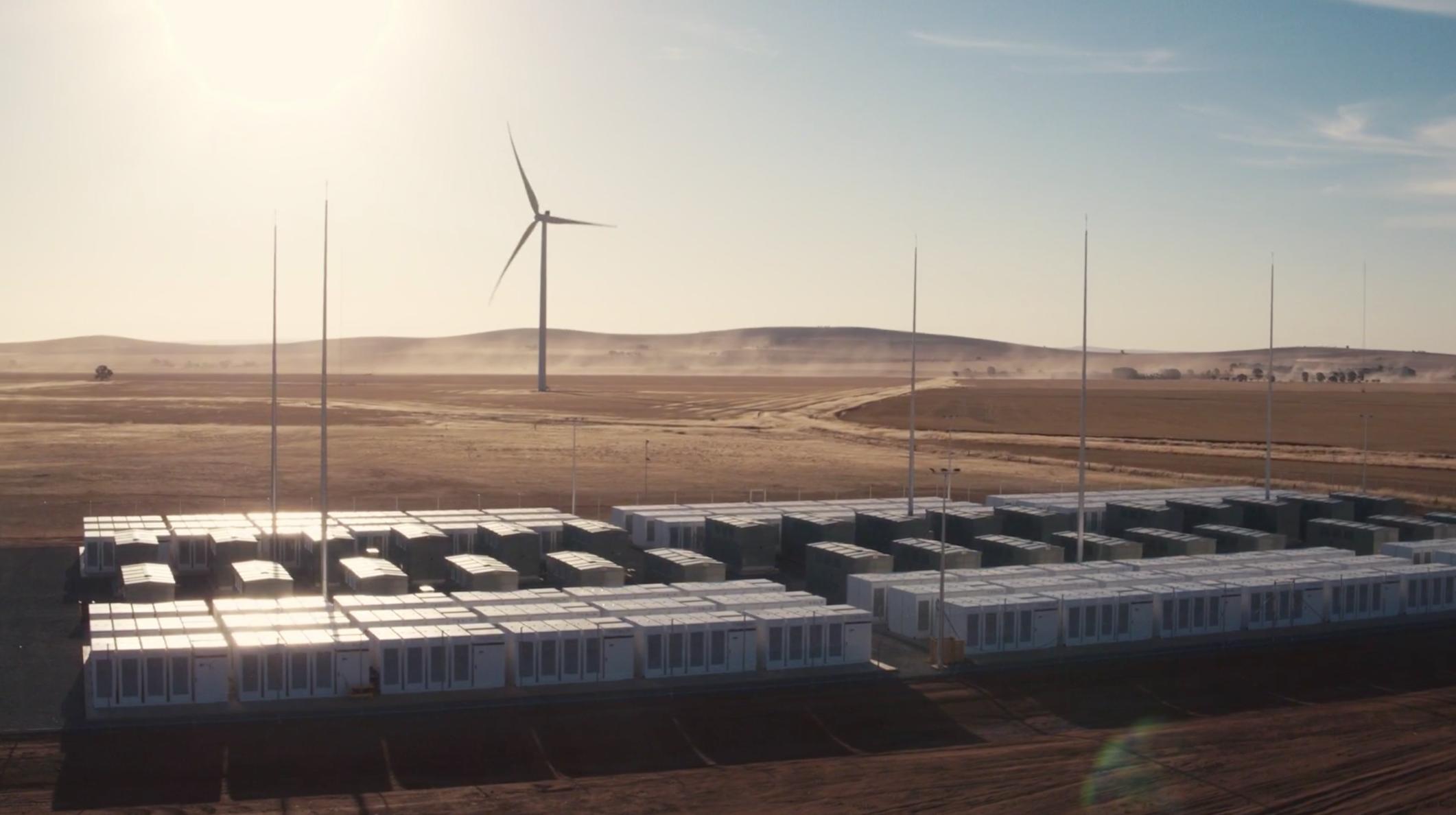 Tesla Powerpack Neoen