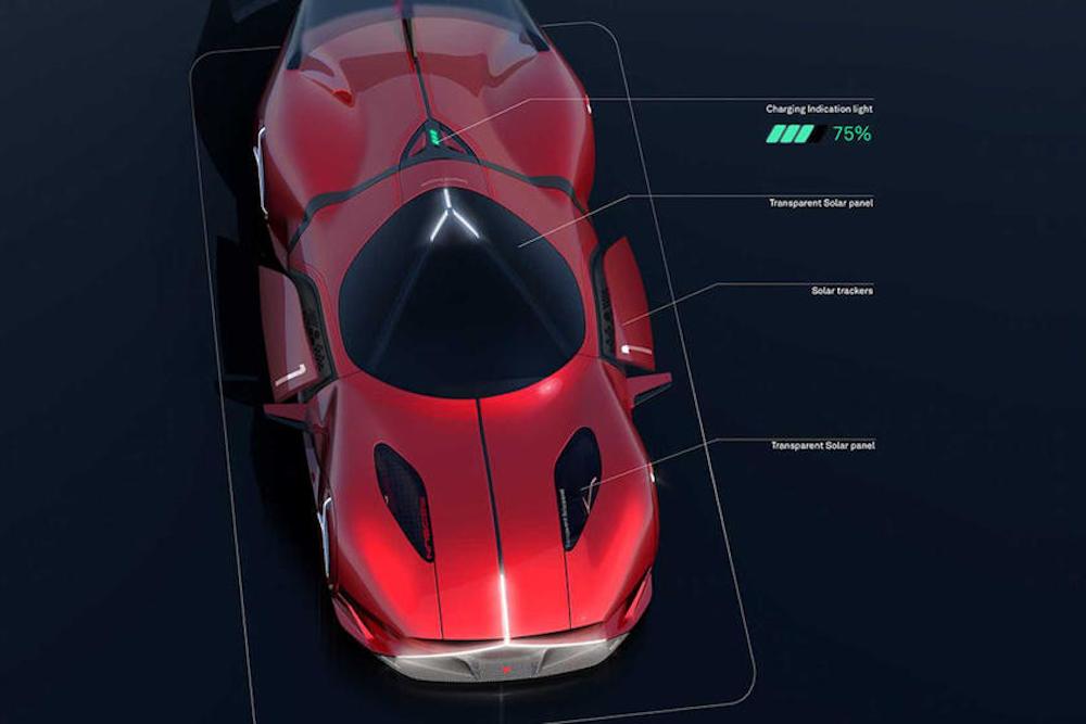 Το μελλοντικό supercar της Mercedes θα φορτίζει από τον Ήλιο
