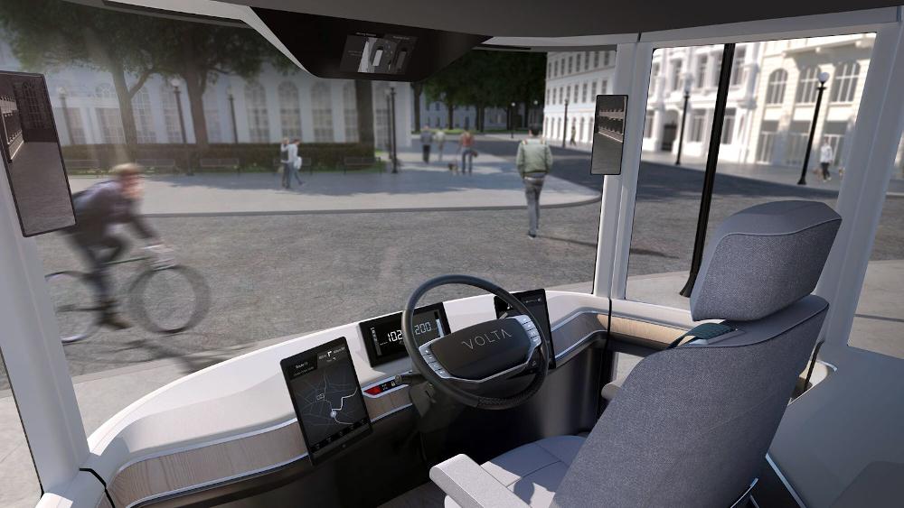 To Volta Zero είναι ένα ηλεκτρικό φορτηγό με υφασμάτινα μέρη