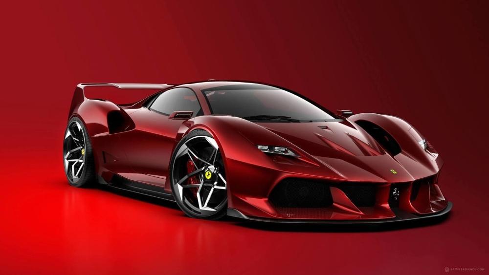 Ferrari F40 Tribute / Samir Sadikhov