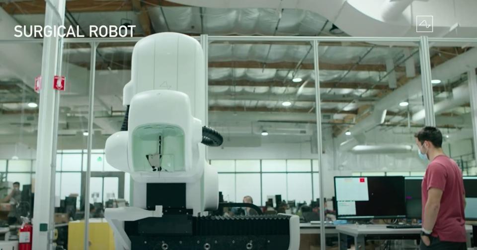 Robot τοποθέτησης εμφυτεύματος Neuralink