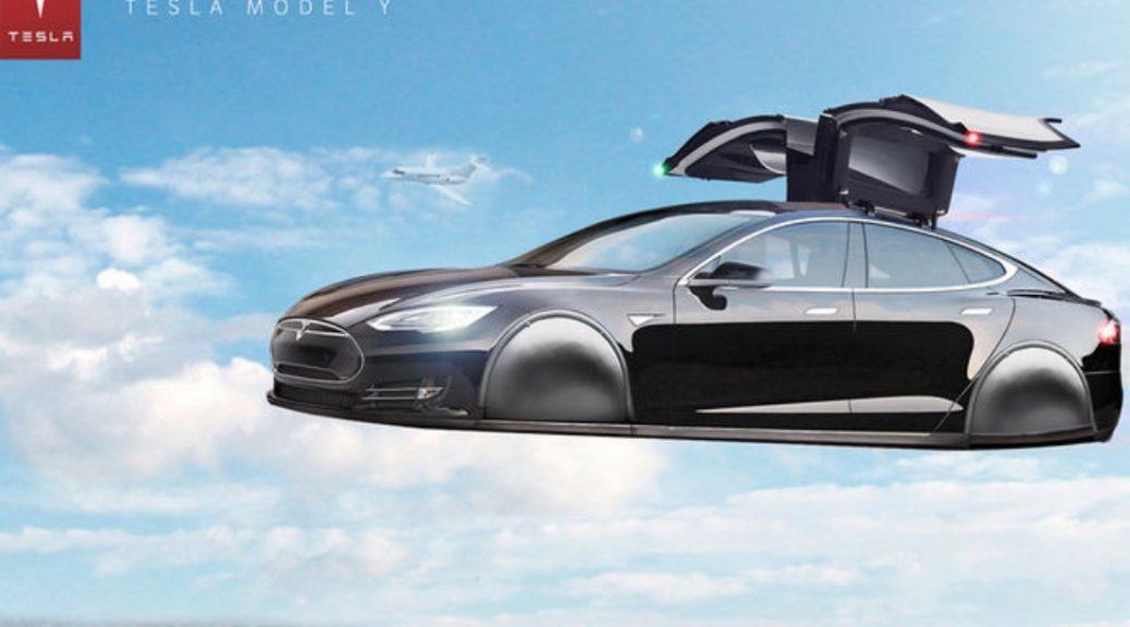 Tesla Model S - ιπτάμενο