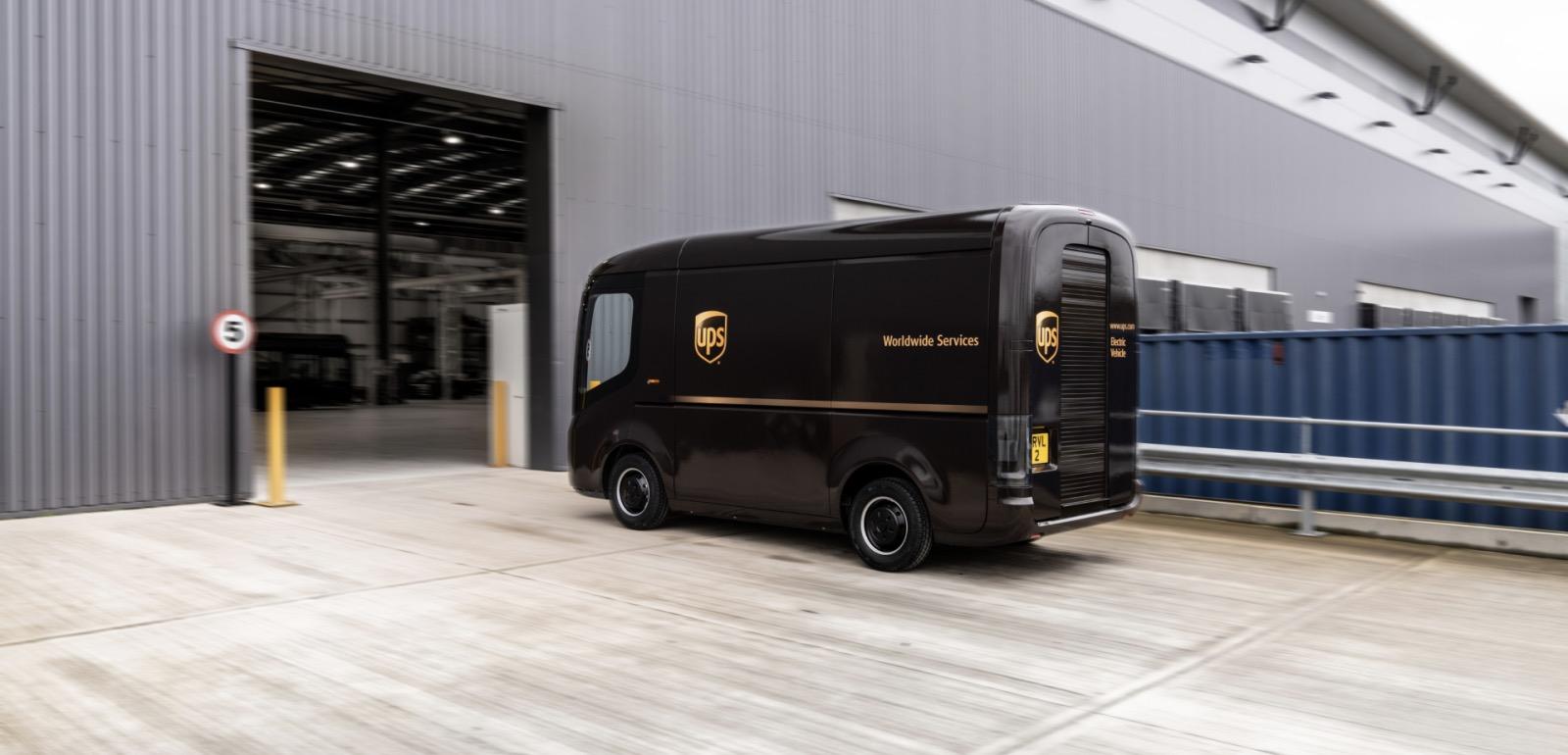 Arrival van - UPS
