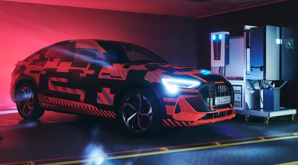 Audi - αμφίδρομη φόρτιση