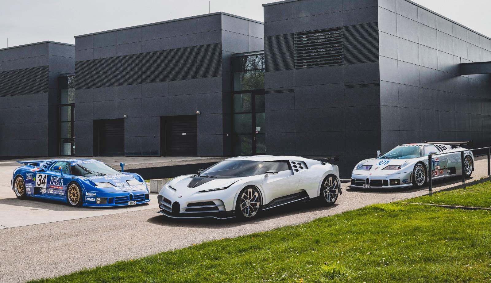 Bugatti Centodieci / EB110 / Molsheim