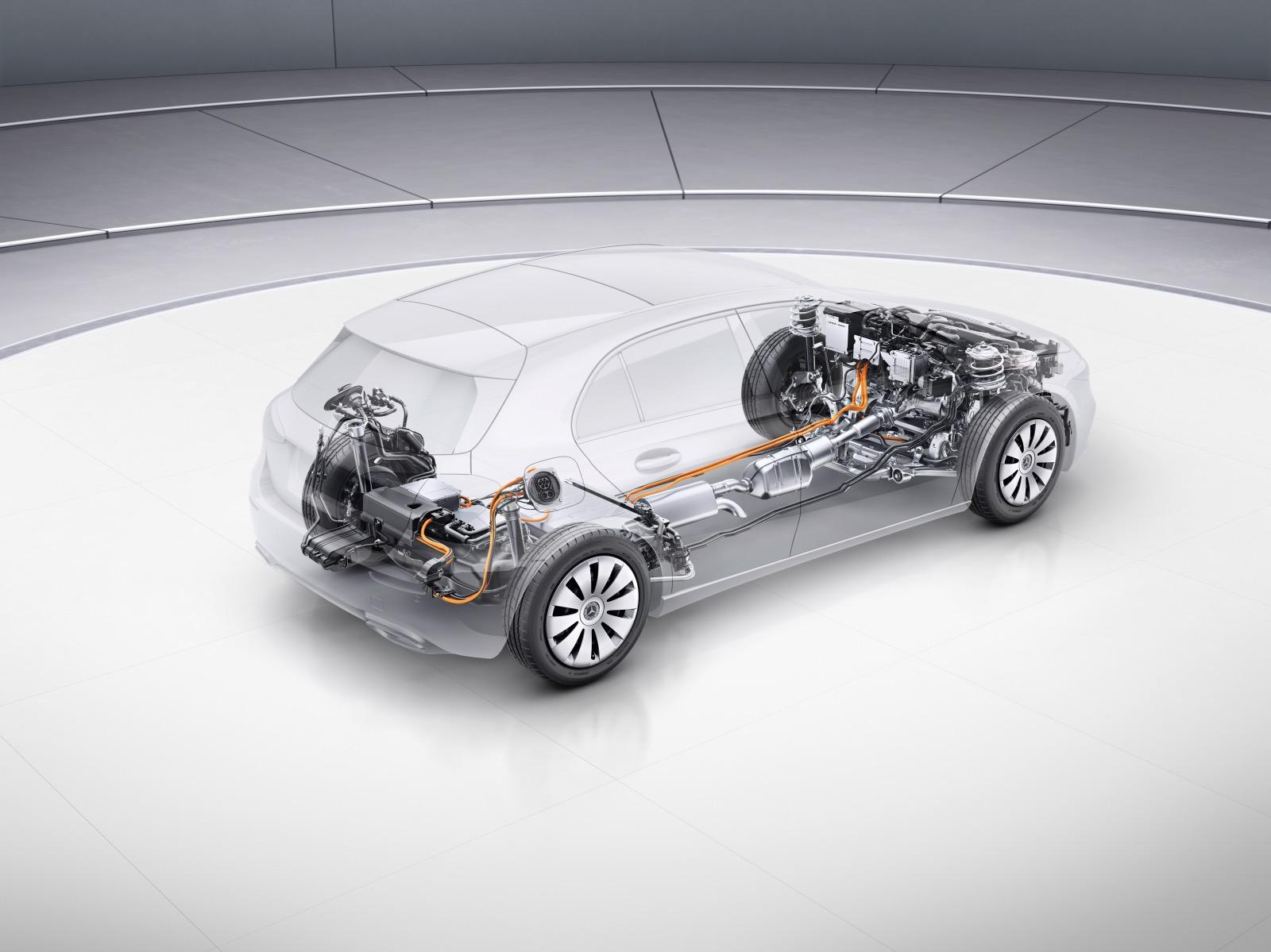 Mercedes A-Class plug-in hybrid