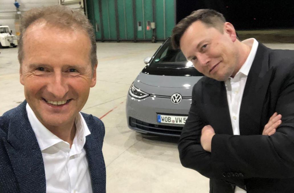 Herbert Diess - Elon Musk