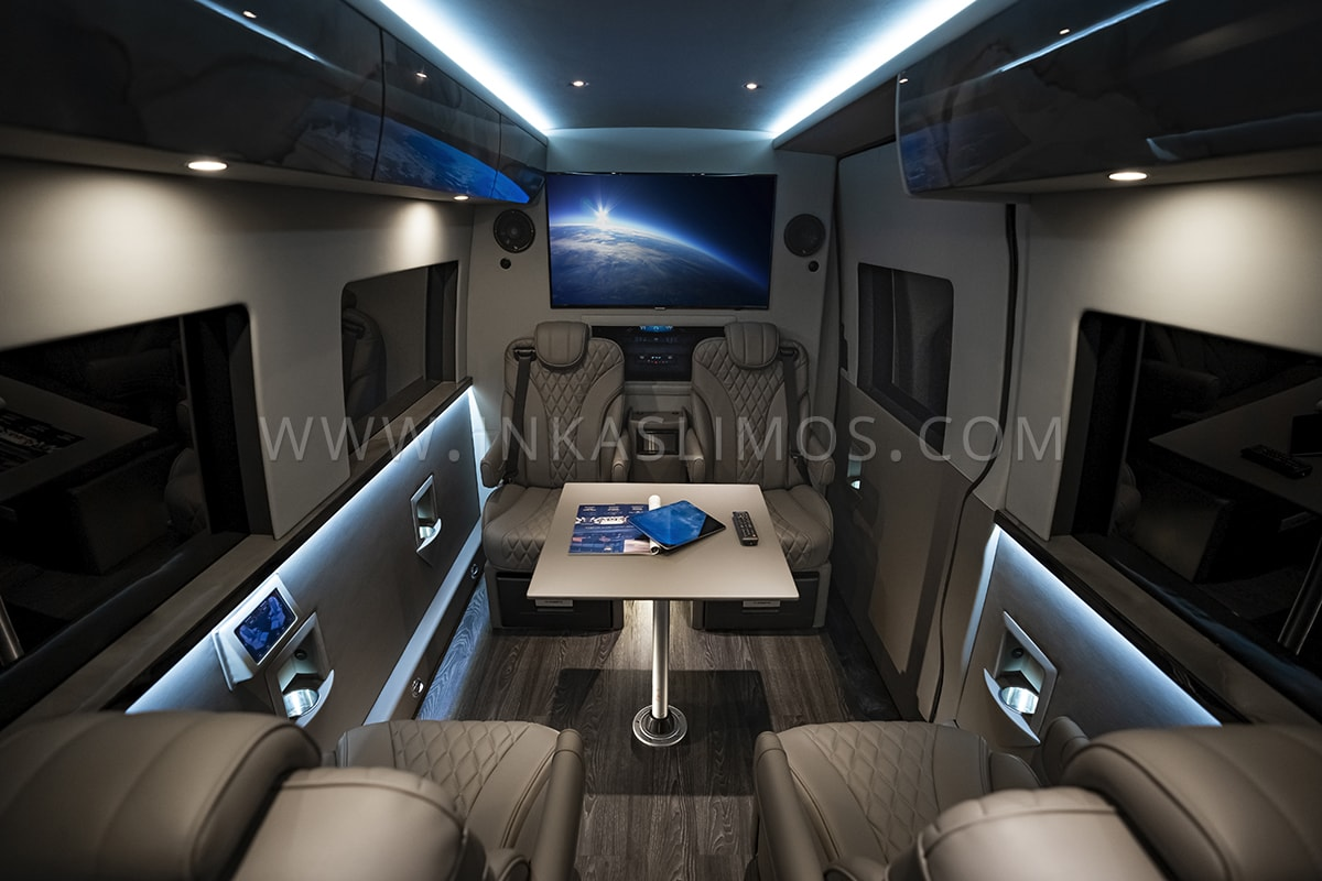 VIP Mobile Office MB Sprinter by INKAS