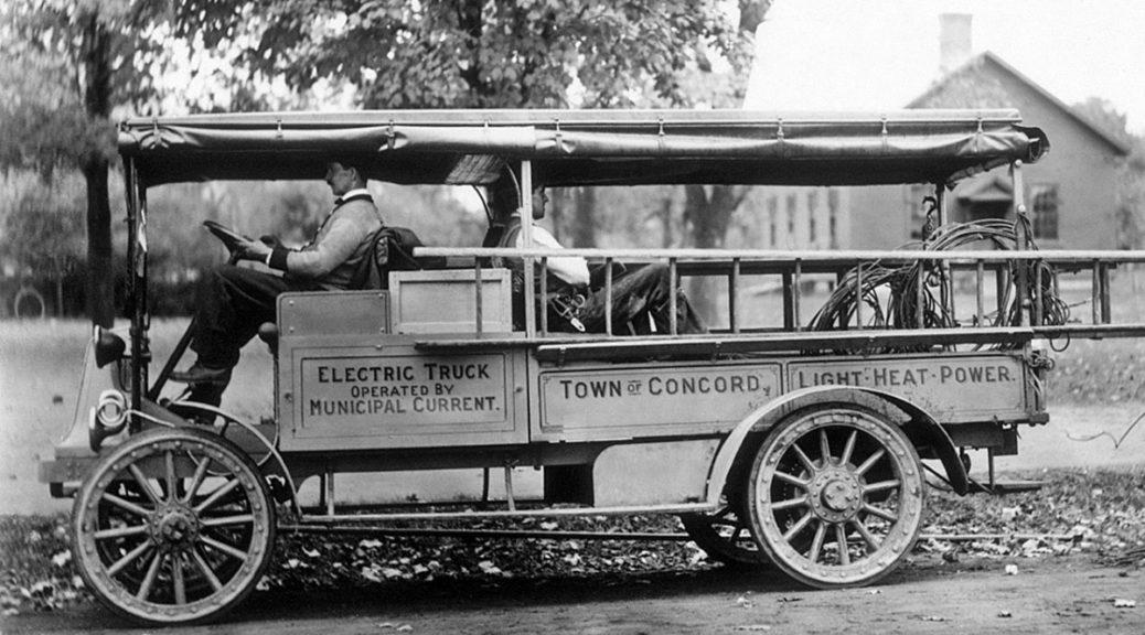 GMC electric truck