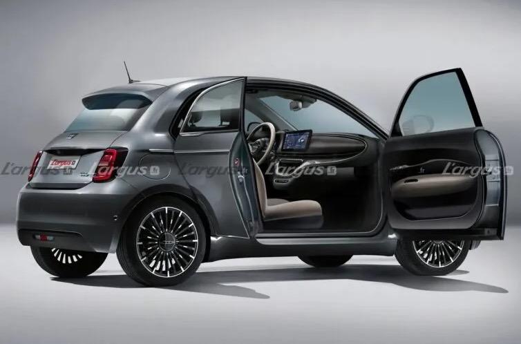 Fiat 500 e Trepiuno