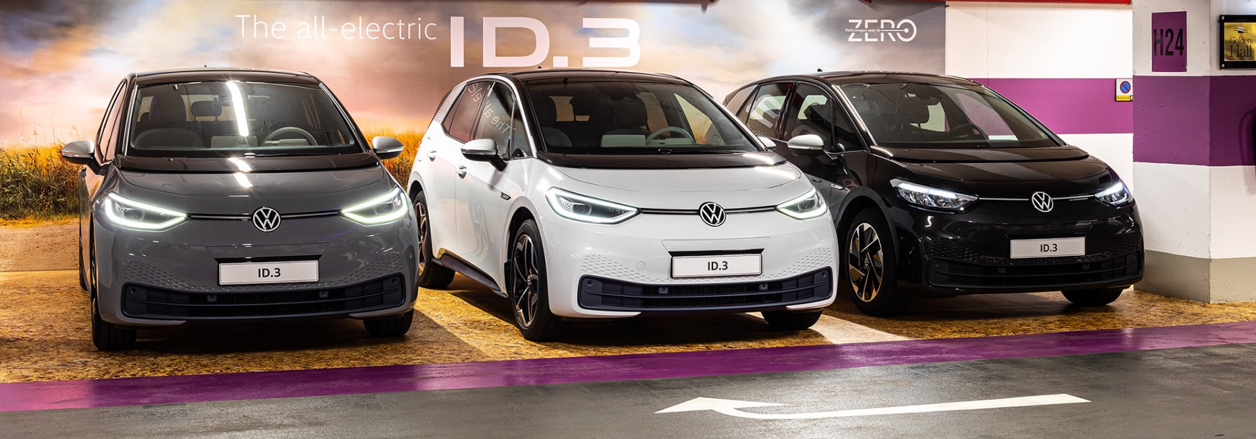 Volkswagen ID.3 / Golden Hall