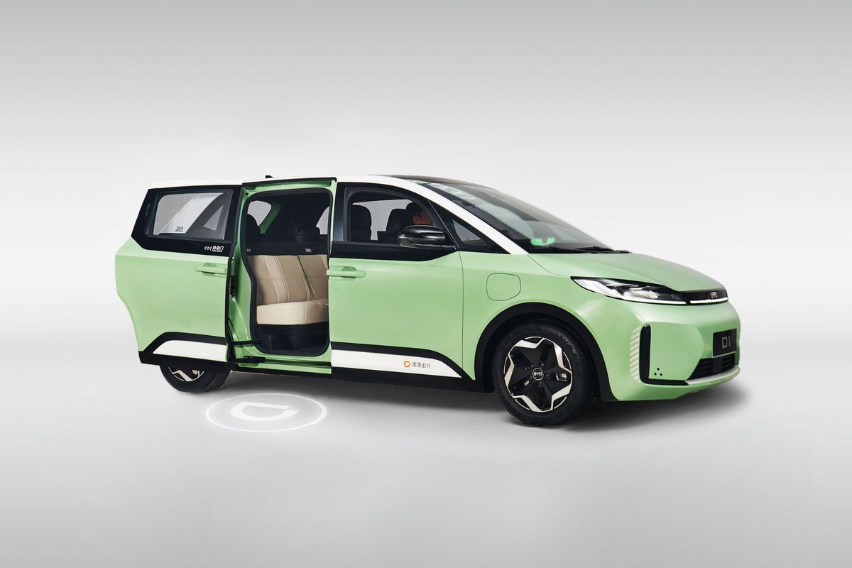 To BYD D1 γίνεται ένα ηλεκτρικό όχημα κοινής χρήσης