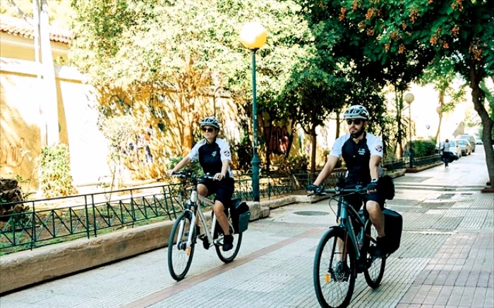 Δημοτική αστυνομία, ηλεκτρικά ποδήλατα