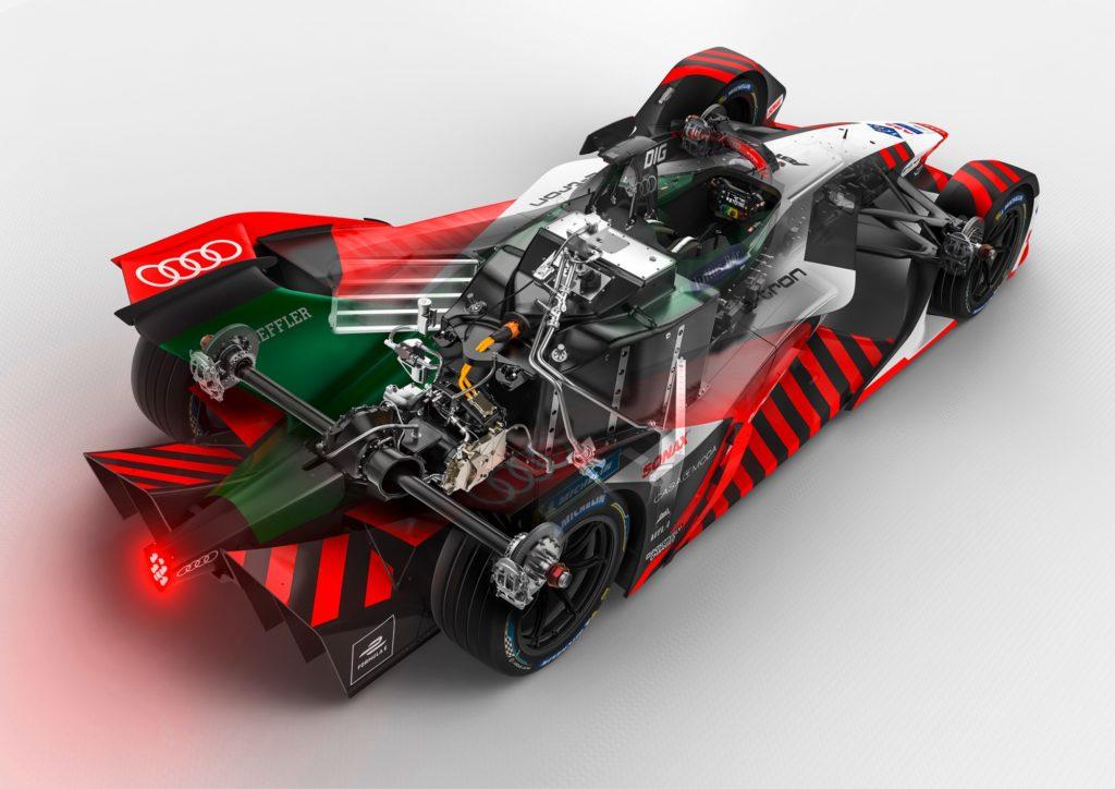 Audi e-tron FE07 / Formula E