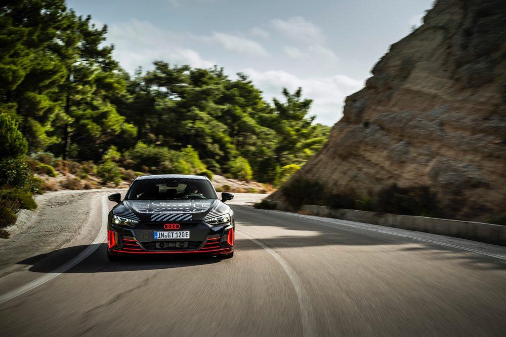 Audi RS e-tron GT / Ρόδος