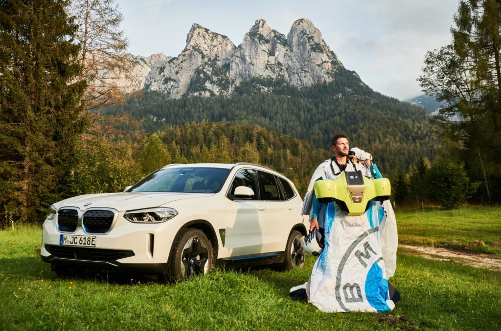 Electrified Wingsuit BMW i