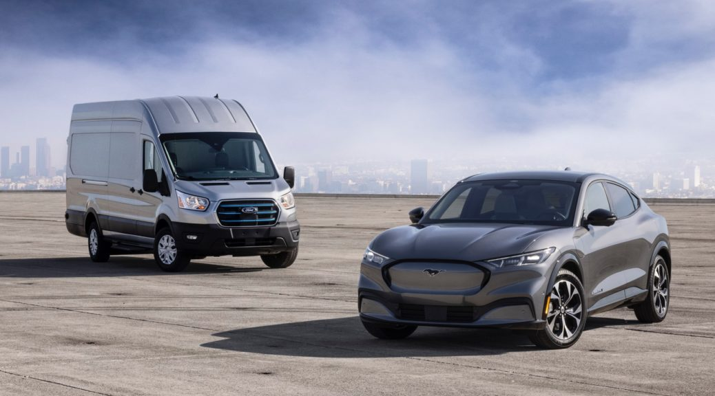 Ford E-Transit & Mustang Mach-E