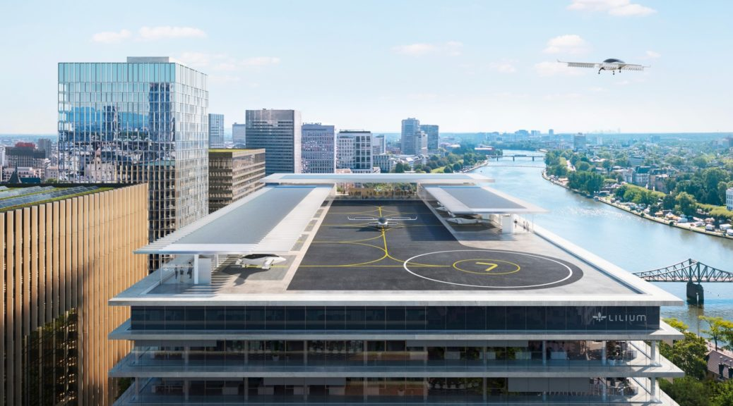 Lillium Aviation / eVTOL vertiport