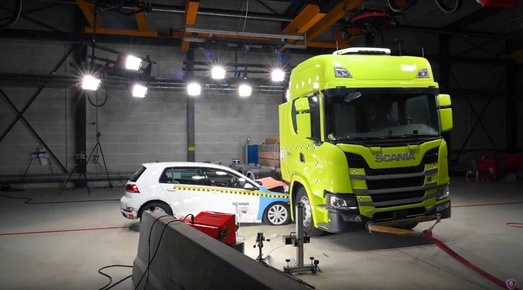 Scania crash-tests
