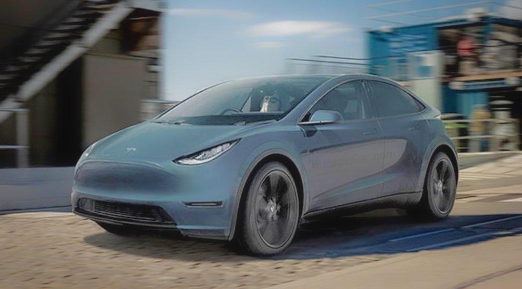Tesla compact hatchback