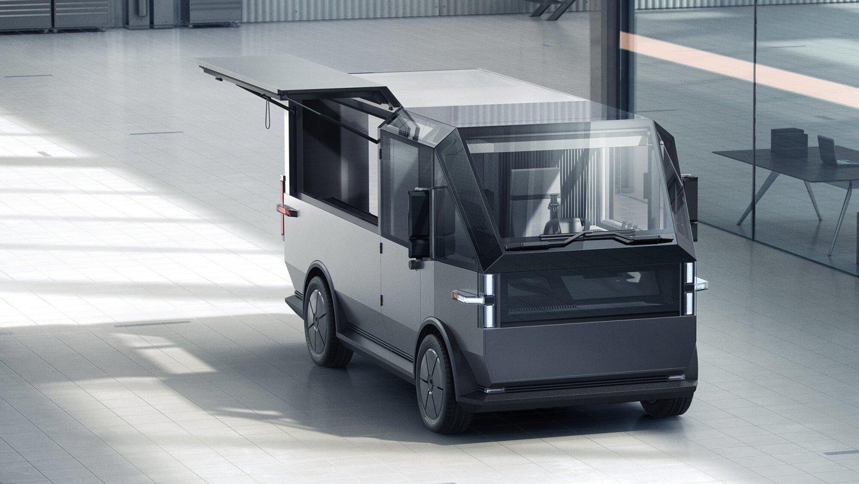 To Canoo MPDV είναι ένα ηλεκτρικό όχημα πολλαπλών χρήσεων