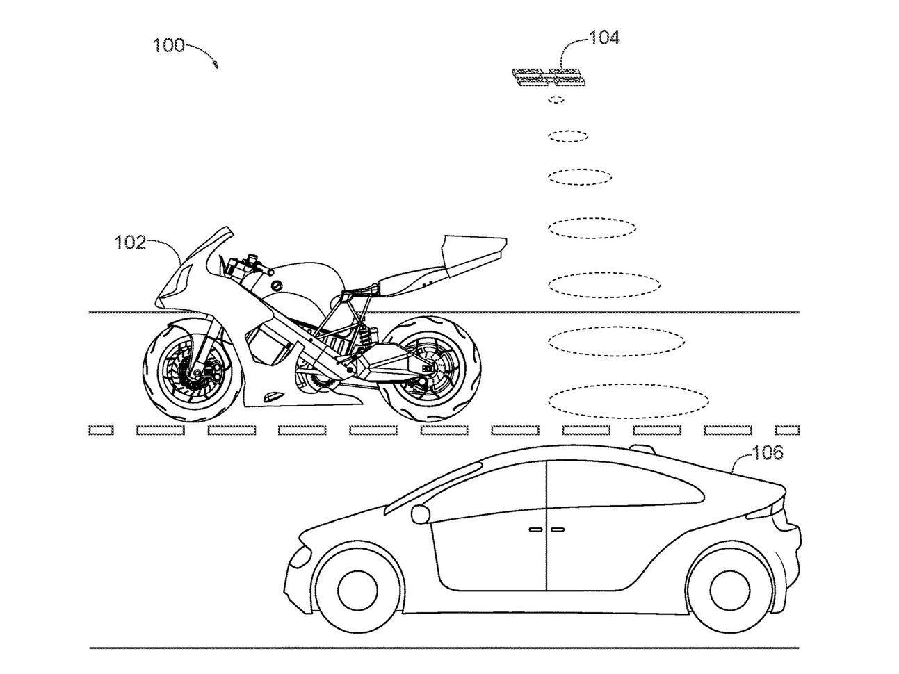 H Honda βάζει ένα drone στο πίσω μέρος μίας μηχανής