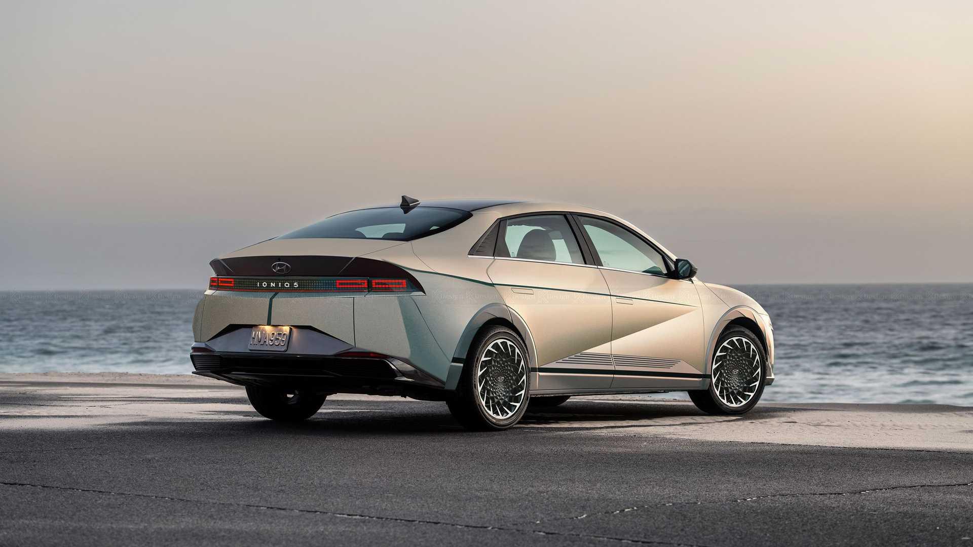 Πώς θα είναι το Huyndai Ioniq 5 σε sedan σχέδιο;