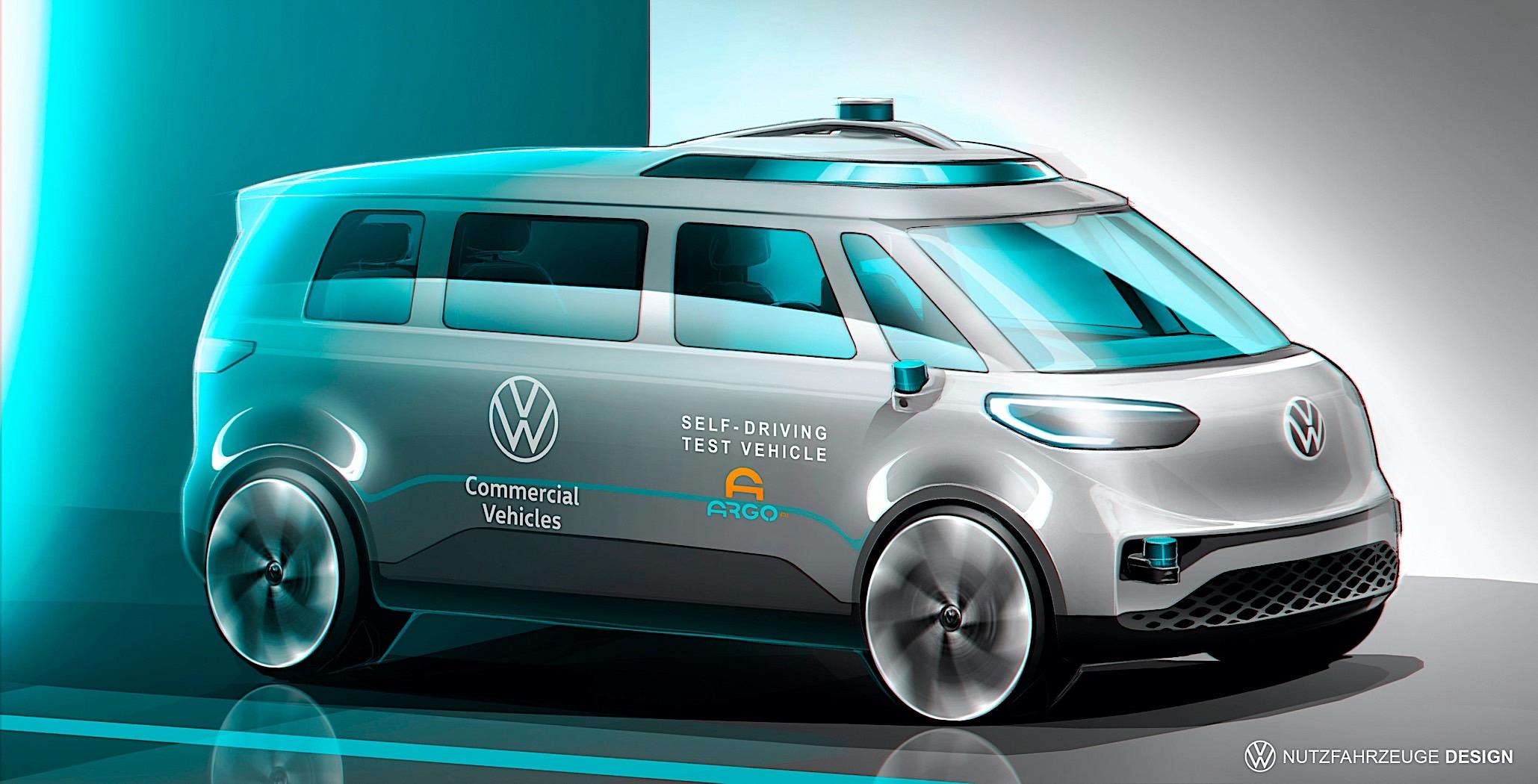 Το VW ID.Buzz έρχεται με αυτόνομη λειτουργία;