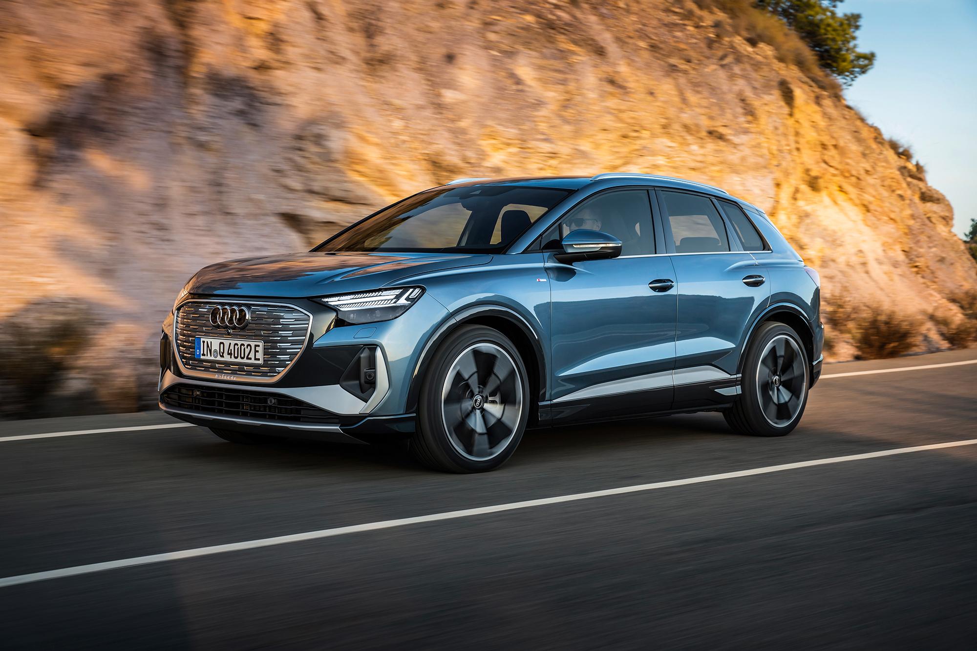 Audi Q4 etron revealed