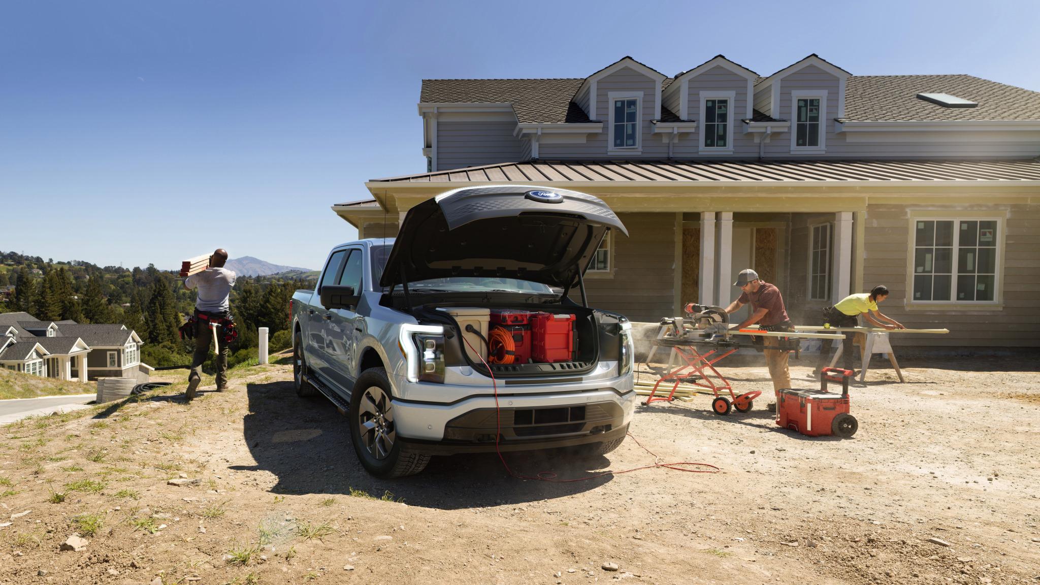 Το Ford F-150 Lightning έχει ενέργεια για να φορτίσει ένα σπίτι