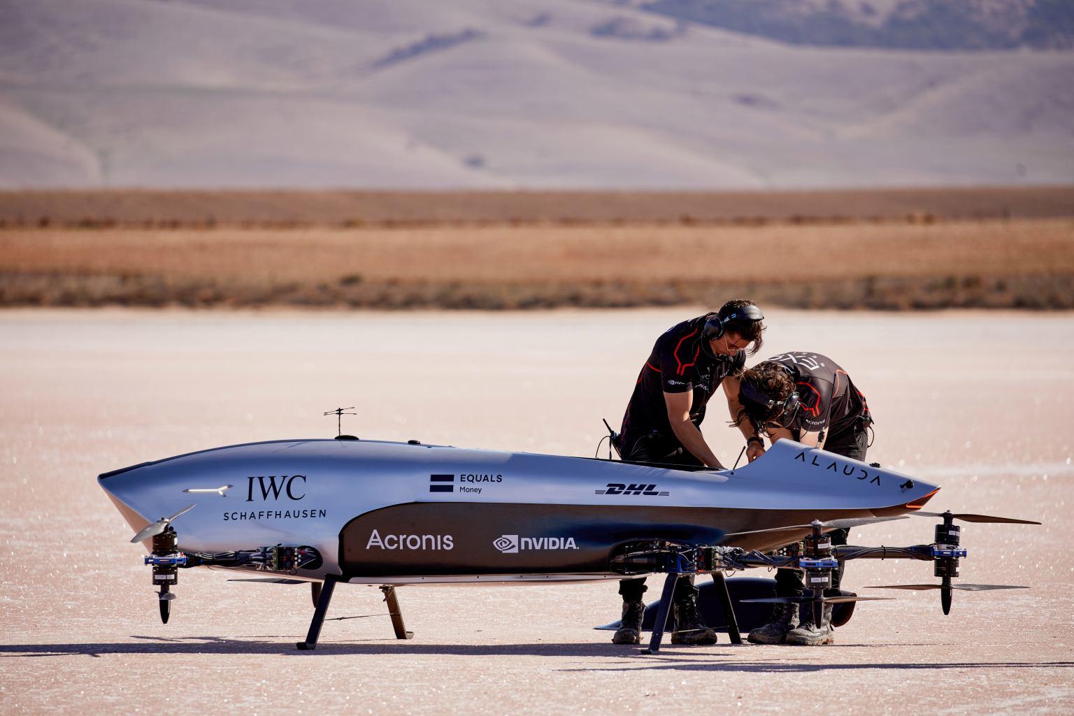 H Airspeeder δίνει ηλεκτρισμό και... φτερά στα αγωνιστικά οχήματα
