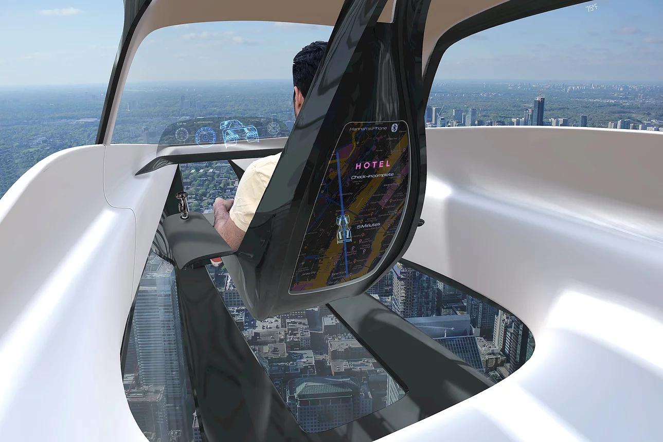 Urban eVTOL Leo: Ένα ιπτάμενο όχημα που χωρά στο γκαράζ