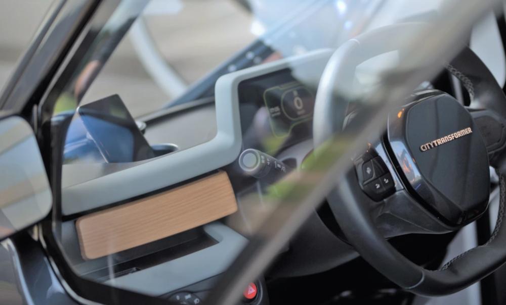 City Transformer CT1: Ένα micro car που αλλάζει το πλάτος του