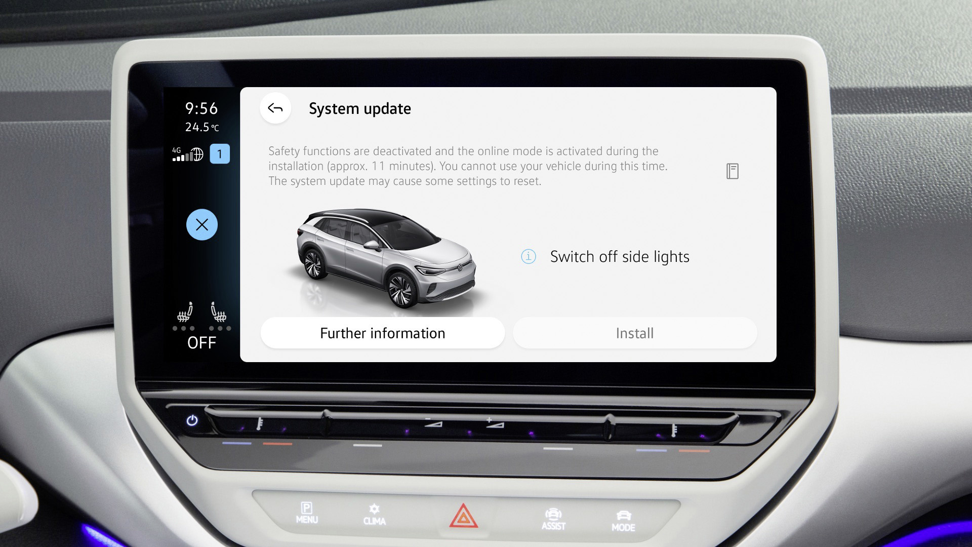 Over The Air Updates για όλα τα ηλεκτρικά αυτοκίνητα της VW
