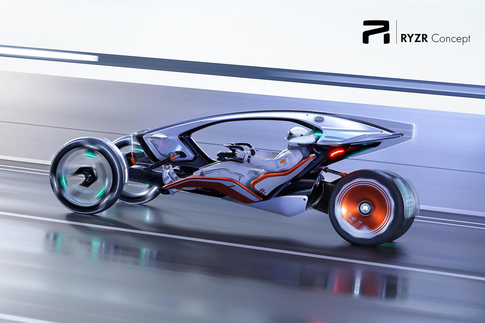 R-RYZR: Η Επιστημονική Φαντασία μπαίνει στους 4 τροχούς