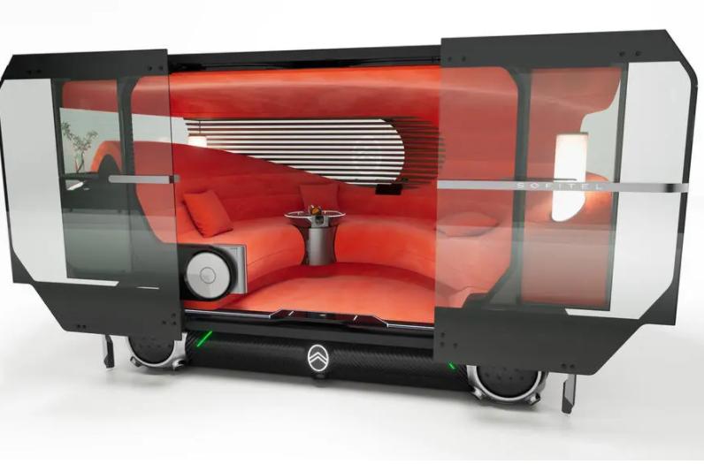Citroen Skate: Μία ηλεκτρική πλατφόρμα αυτόνομων οχημάτων