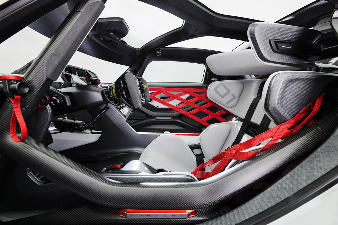 Porsche Mission R Concept: Ένα EV πολύ υψηλών ταχυτήτων