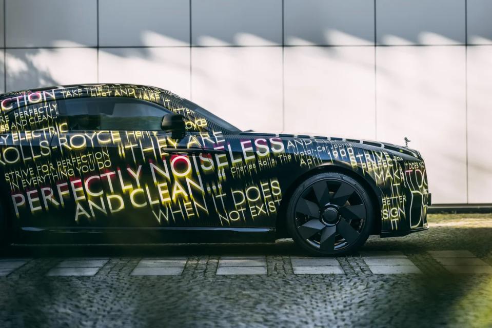 H ηλεκτρική Rolls Royce Spectre θα έρθει μέσα στο 2023