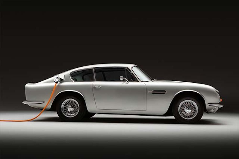 Aston Martin DB6: Οδηγείτε ηλεκτρικά, κύριε Bond;
