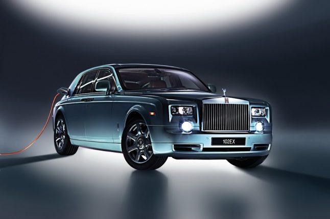 Rolls Royce 102EX Concept